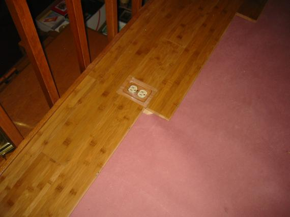 Floor Outlet